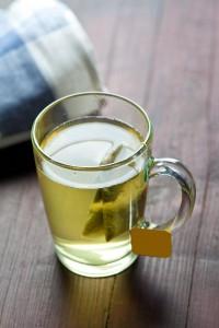 El té verde es un poderoso agente antioxidante. Se recomienda beber una taza tres veces al día. Ph. Shutterstock