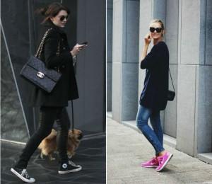 Las celebrities y las fashionistas fueron las primeras en adueñarse de este estilo. Ph. CuoreEstilo.com, KisksFree.com
