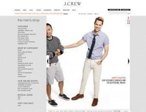 El diseñador de J. Crew y su pareja fueron uno de los protagonistas de la campaña de la marca en 2011
