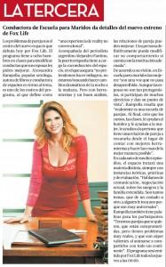 09-04-2015 Escuela para maridos La Tercera - Chile