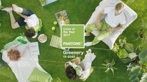 Nuevos inicios, vida, naturaleza; Greenery es el color Pantone del año. Ph. pantone.com